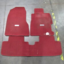 JDM Honda Civic Type R EP3 OEM Floor Mats Red K20A