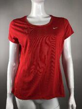 Nike Running DriFit Womens Sz Large Red Athletic Wear Running Zumba Yoga Fitness