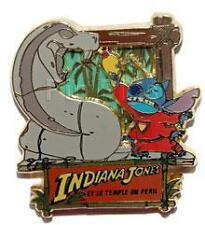 Disney DLRP Stitch Invasion Series Indiana Jones Pin