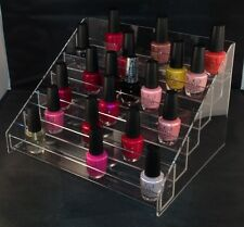 NAIL VARNISH DISPLAY STAND HOLDS APPROX 60 BOTTLES HIGH QUALITY