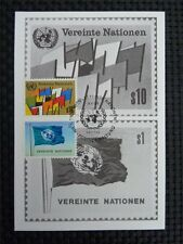 ONU VIENNA MK 1979 maximum carta carte MAXIMUM CARD MC cm c2710