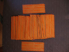 New listing Lot of 10 flat paper quarter wrappers (empty)