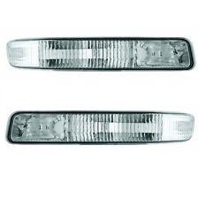 1999-2006 GMC Yukon/2001-2006 GMC Sierra Corner Lamp/Light Pair Crystal Clear