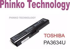 Battery for TOSHIBA Satellite C650 C660 L650 PA3634U-1BRS PA3634U-1BAS