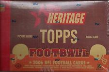 2006 Topps Heritage Factory Sealed Football Hobby Box  Marino  Namath  AUTO ??