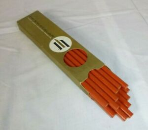 12 Vtg Eagle Prismacolor Colored ART Pencils In Box Vermillion Red UNUSED