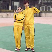 ZOOBOO Bruce Lee Vintage Classic Tracksuit Ninja Uniform Martial Arts Sportswear