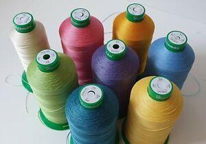many candy pastel colors of thread - upholstery repair kit & craft & hand sewing