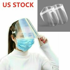 2PACK Hard Plastic Face Shịeld Outdoor Saliva-proof Hat Protection