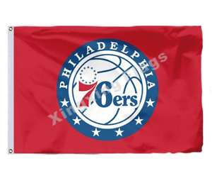 Philadelphia 76ers Flag 3X5 FT NBA Banner Polyester FAST SHIPPING!!!