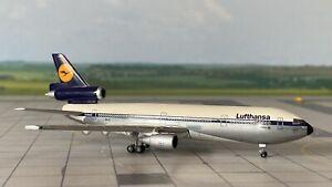 "McDonnell Douglas DC 10-30 Lufthansa ""Leverkusen"" 1:500 mit OVP Herpa Wings Lim."