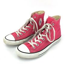 Converse All Star Chuck Taylor Mens 9 Womens 11 Raspberry High Tops Shoes 132307