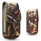 Camo TREE Heavy Duty Nylon Holster Pouch Belt Clip fit with HEAVY DUTY Case On