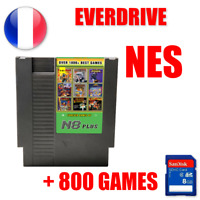 Cartouche EverDrive Nintendo NES + SD 800 jeux Region FREE N8