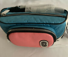 NWT Coach COURT BELT BAG IN COLORBLOCK -2907-SIGNATURE NYLON