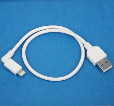 30cm QUICK Charger ONLY Right Angle USB cable WHITE 4 iPad Pro Air 2 4 mini 3