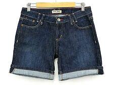 Paris Blues Women's Blue Denim Dark wash Short Shorts Size 11