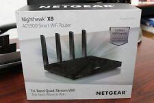 NETGEAR Nighthawk X8 AC5300 Tri-Band Smart WiFi Router (R8500-100NAS)