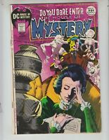 House of Mystery 194 G+ (2.5) Wrightson cover! 9/71 Toth & Kirby art! 52 pages!