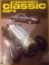THOROUGHBRED & CLASSIC CARS--AUG 1980 inc AC ME 3000 + ROVER 2000 + ALVIS TA14