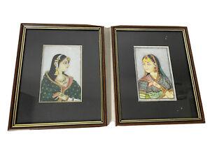 indian artwork On Marble ( Set Of 2)