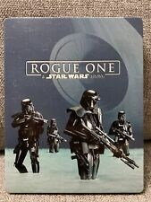 Rogue One: A Star Wars Story 3D + Blu-ray + DVD Best Buy Steelbook No Code