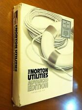 Norton Utilities Advanced Edition with 5.25 disks Version 4.5 for DOS PC's 1988