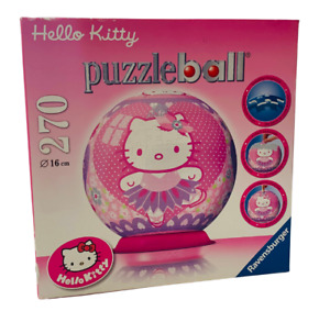 Ravensburger Jigsaw Puzzle Ball Hello Kitty 270 Piece Plastic Complete Kids Toy