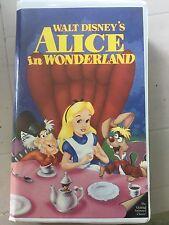 Alice in Wonderland (VHS) black diamon collection