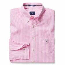 Cotton Button Down Striped GANT Casual Shirts & Tops for Men