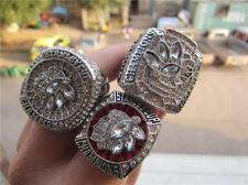 NHL 2010 2013 2015 Chicago Blackhawks Hockey Stanley Cup Championship Ring Set