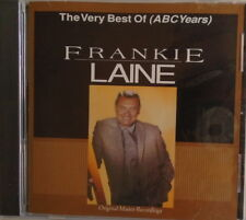 FRANKIE LAINE -  CD - The Very Best Of (ABC YEARS) - BRAND  NEW