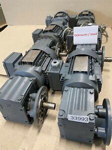 SEW 0,37 Kw 50 Min Gear Motor WF20 DT71D4 Gearbox