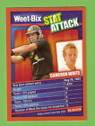 WEETBIX STAT ATTACK CRICKET CARD #08 CAMERON WHITE