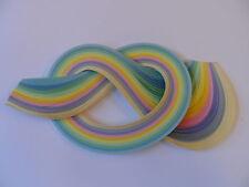100 tiras de papel Encañonado 3mm Ancho-Verde primavera