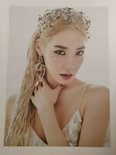 Tiffany Young (SNSD) - Lips On Lips 2 sided Unfolded Official Poster Hard Case