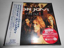 Bon jovi These Days CD Japanese Import OBI Strip Mini Album Replica NEW