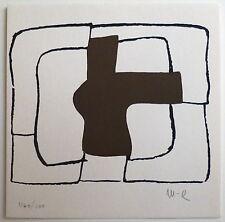 Conrad Marca-Relli Serigraphie Originale signée art abstrait New-York Paris