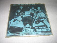 CREEDENCE CLEARWATER REVIVAL 45 TOURS BELGE HEY TONIGHT