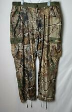 Scent Blocker Men XL Camo Camouflage Cargo Hunting Long Pants