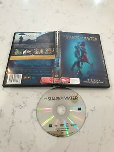 The Shape Of Water Sally Hawkins Octavia Spencer Michael Shannon Doug Jones DVD