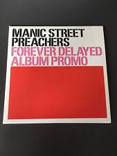MANIC STREET PREACHERS FOREVER DELAYED ALBUM PROMO CD NEW
