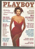 Playboy January 1990 - Joan Severance, Tom Cruise, Andy Warhol, Ted Turner, etc