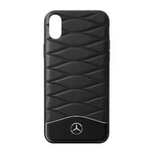 Mercedes Benz Original COQUE / Iphone XS PLASTIQUE / Cuir Noir Neuf Emballage