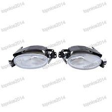 Clear Lens PAIR Fog Light Lamps For Honda Civic sedan 2013-2015