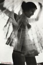 1962 Sam Haskins Female Nude Woman Sheer Retro Style Fashion Vintage Photo Art