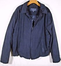 ~ Towne Collection by LONDON FOG ~ Black Jacket Size XL CELL PHONE POCKET