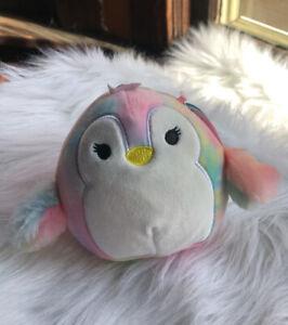 "*NEW* Squishmallow Louisa Penguin 5"" Plush Pillow"
