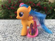 "My Little Pony MLP 3"" Scootaloo Spielzeug Figur Neu Loose"