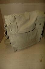 Original British WWII  Mint MKVII Gas Mask Bag Indiana Jones Vintage vtg